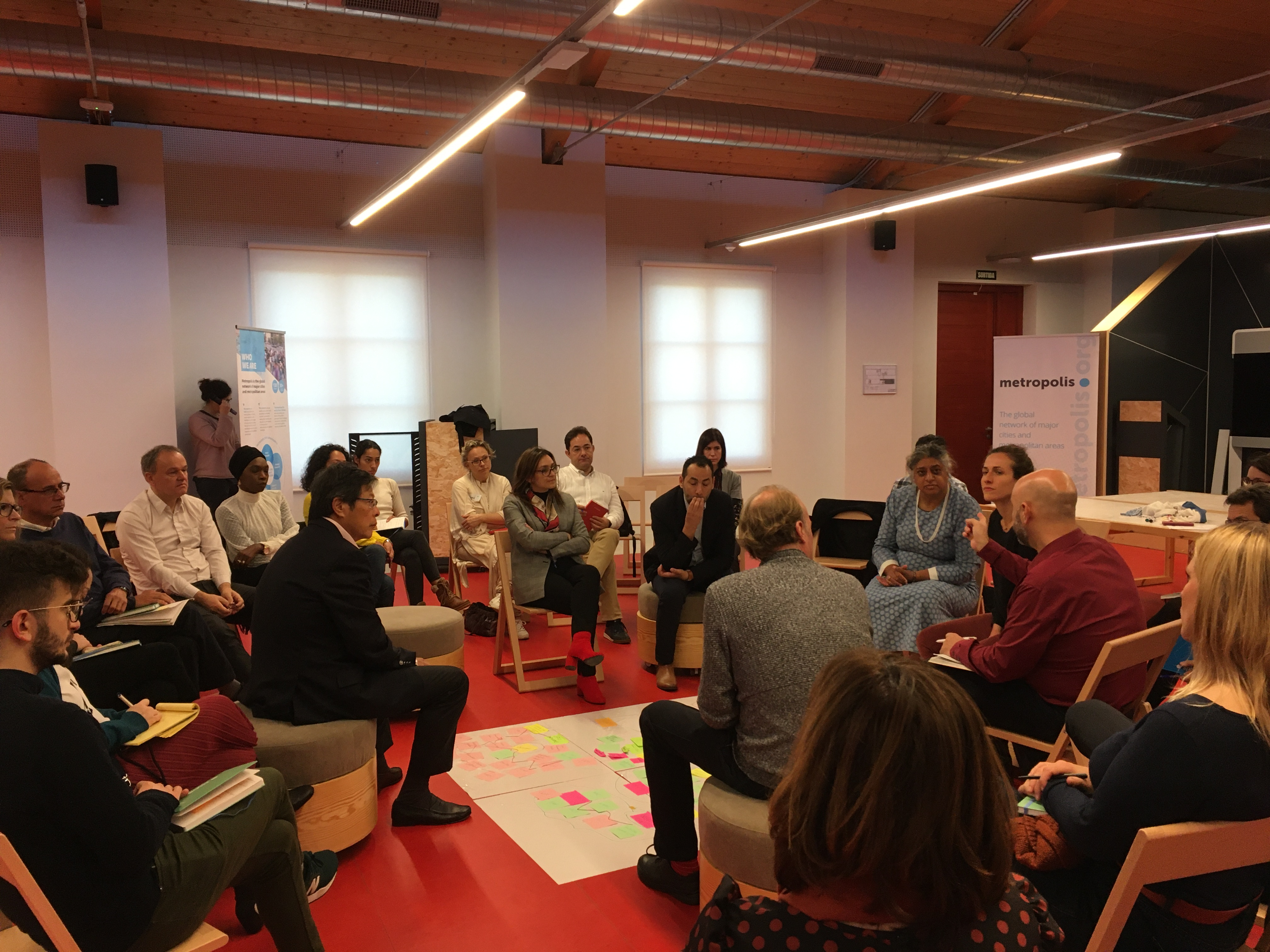 Strategic Meeting - fishbowl dialogue