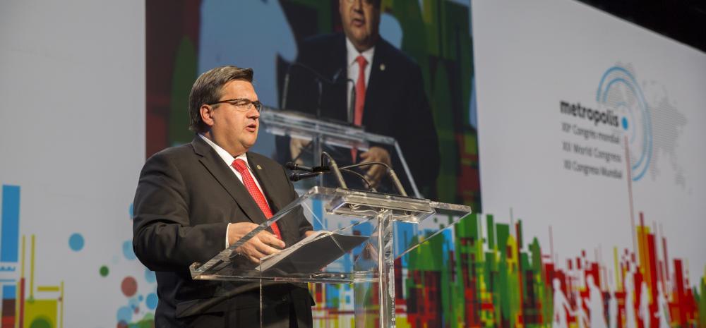 denis coderre Déclaration Montréal 2017