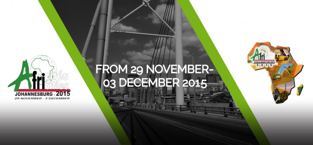 Africities   Africités Johannesburg 2015