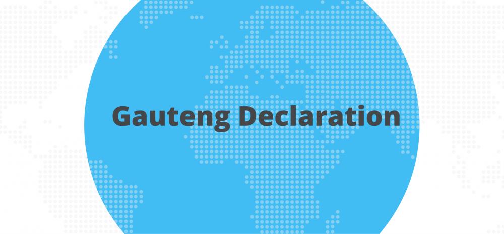 Gauteng Declaration 2018