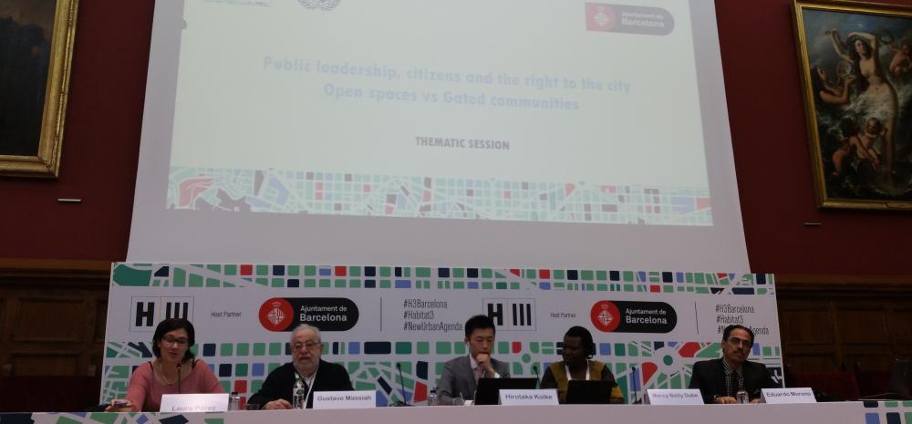 la Red Internacional Mujeres de Metropolis participó en la Conferencia Temática de Hábitat III