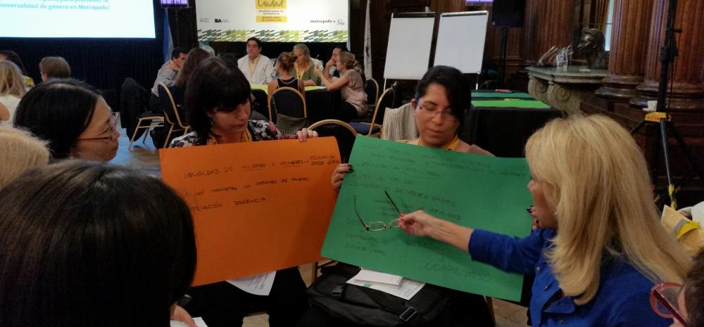 METROPOLIS Women - Gender mainstreaming Workshop in Buenos Aires