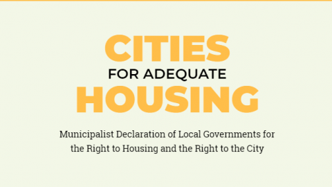 Cities for Housing