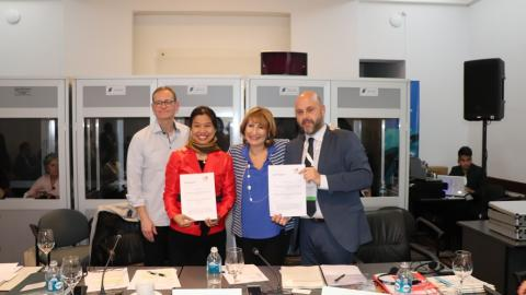 agreement ASPAC and Metropolis