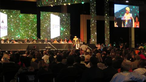 Africities 2015 closing ceremony
